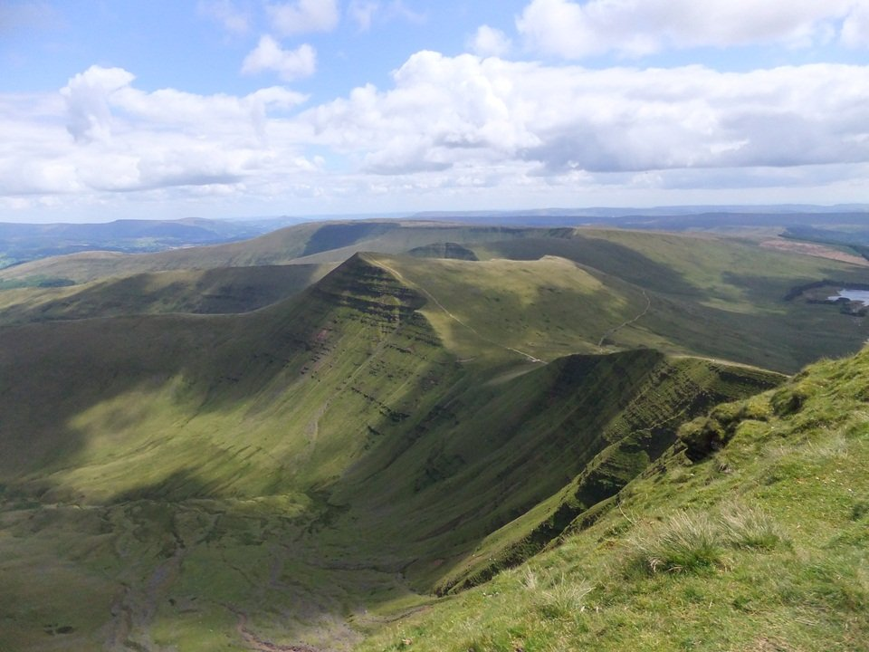 Pen y Fan Walk from Storey Arms.